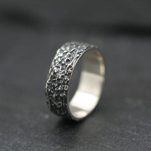 Herenring – Zilver - Zilverklei - Ring - Slingerring