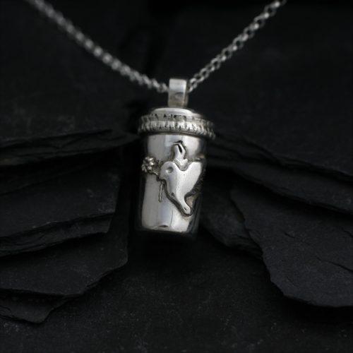 Ashanger - Gedenksieraad - Zilver - Zilverklei - Peace